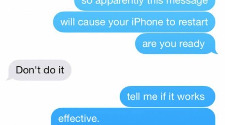 iPhone, l'sms che manda in crash lo smartphone