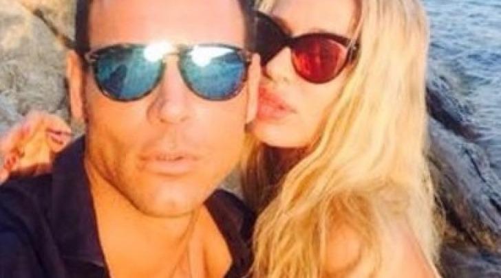 Antonio Brosio e Valeria Marini Facebook