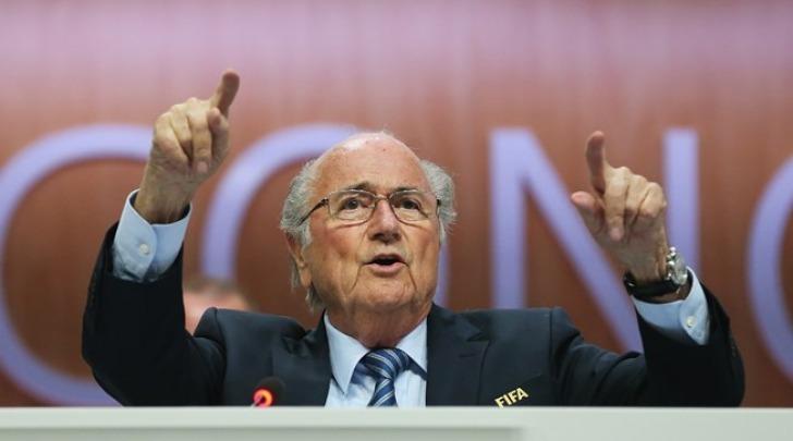 Joseph Blatter sito FIFA