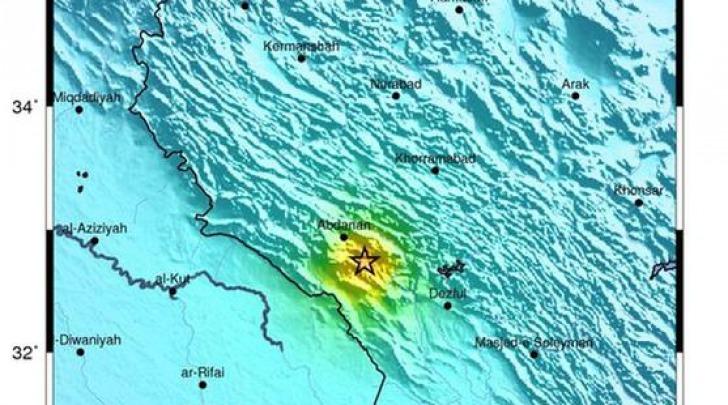 sisma di magnitudo 4.4 in Iran