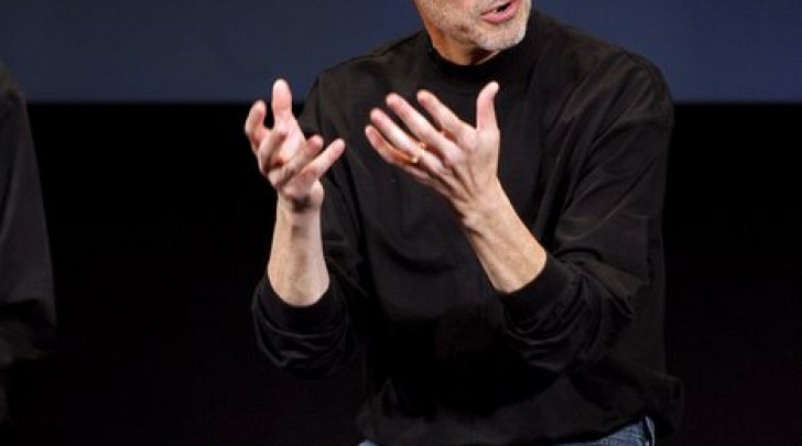 Steve Jobs - foto da twitter