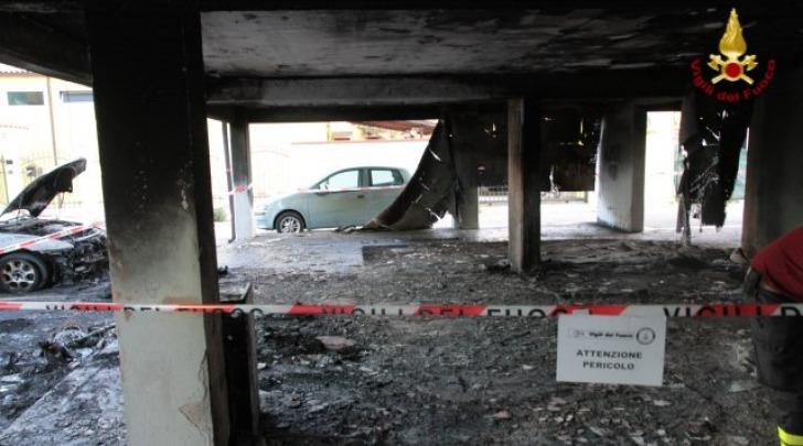 Incendio via Trigno