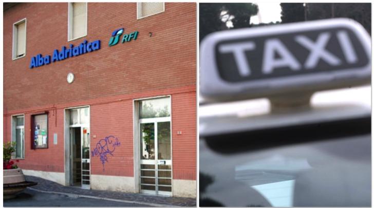taxi alla stazione di Alba Adriatica (TE)