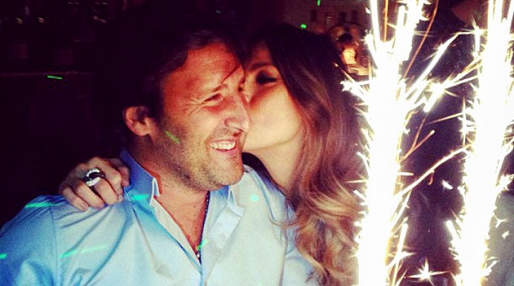 Claudia Galanti e Arnaud Mimran instagram