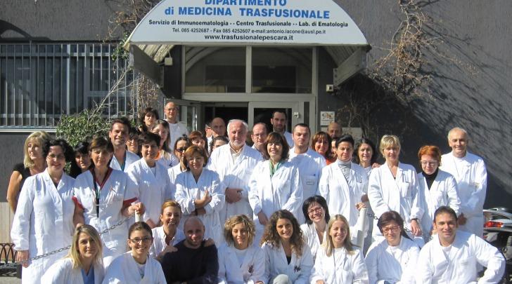 dipartimento di medicina trasfusionale di Pescara