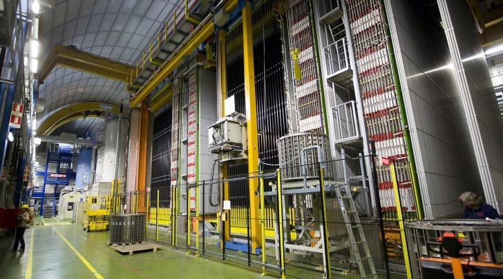 Rilevatore Opera laboratorio Gran Sasso