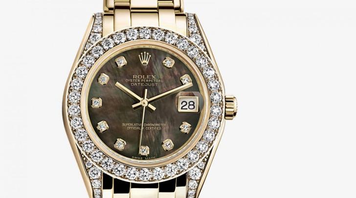 Rolex oro e diamanti