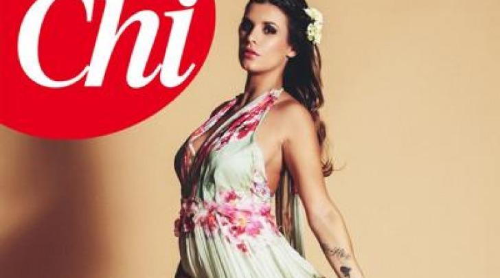 Elisabetta Canalis incinta - Foto Chi