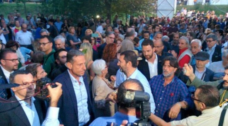 Ignazio Marino alla Festa dell'Unità (twitter)