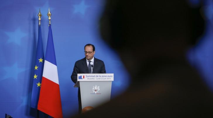 Francois Hollande, foto da infophoto