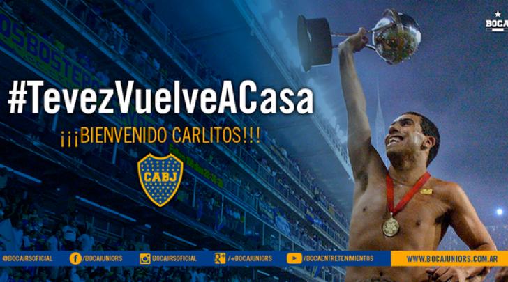 Carlos Tevez sito Boca Juniors