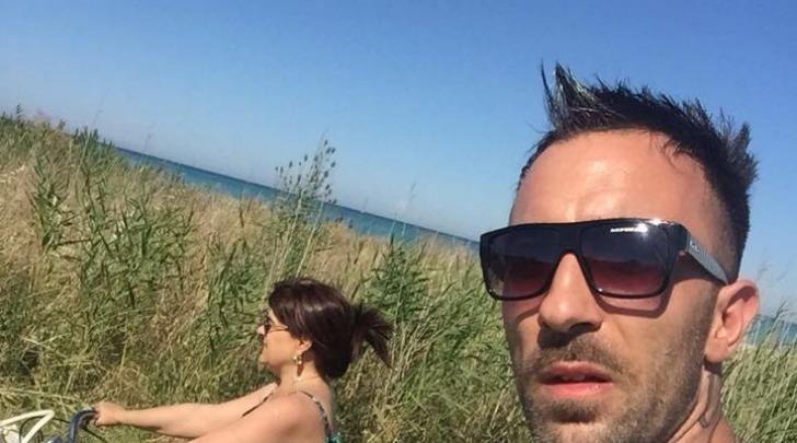 Stefania Pezzopane Scosciata e Simone Colaiuta