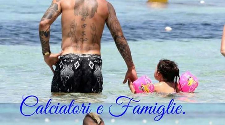 Radja Nainggolan in vacanza a Formentera con la famiglia su @OfficialRadja
