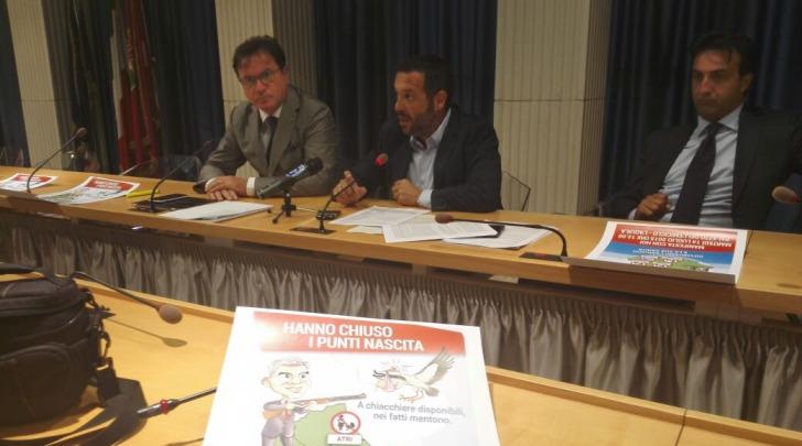 conferenza stampa FI
