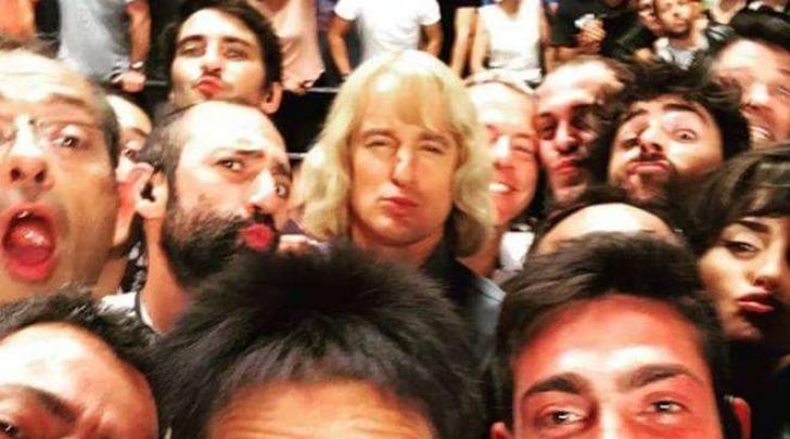 Ben Stiller, selfie sul set di Zoolander a Roma