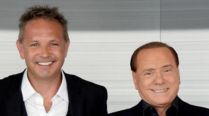Sinisa Mihajlovic e Silvio Berlusconi