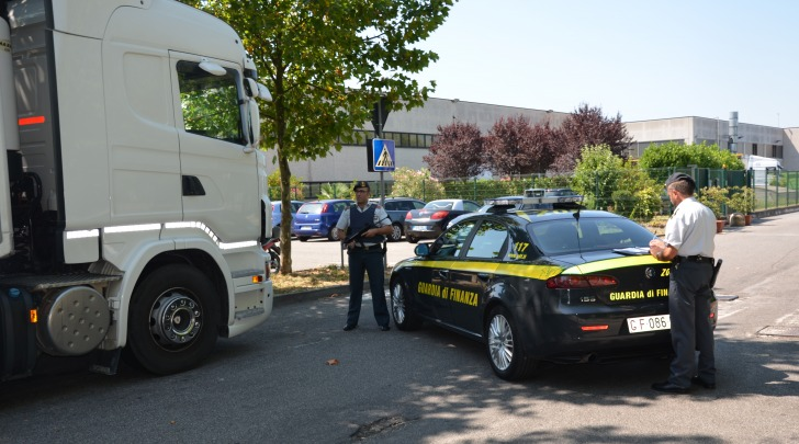 "Gdf Lodi, operazione ""Bad Truck"""