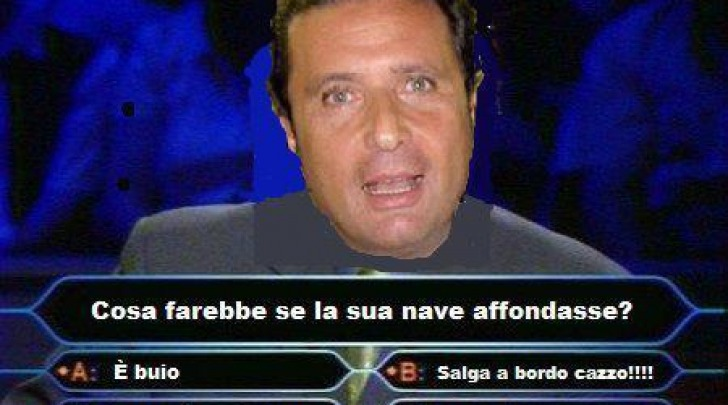 Francesco Schettino MEME