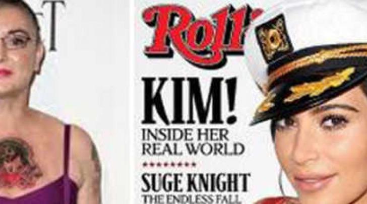 Sinead O'Connor e Kim Kardashian