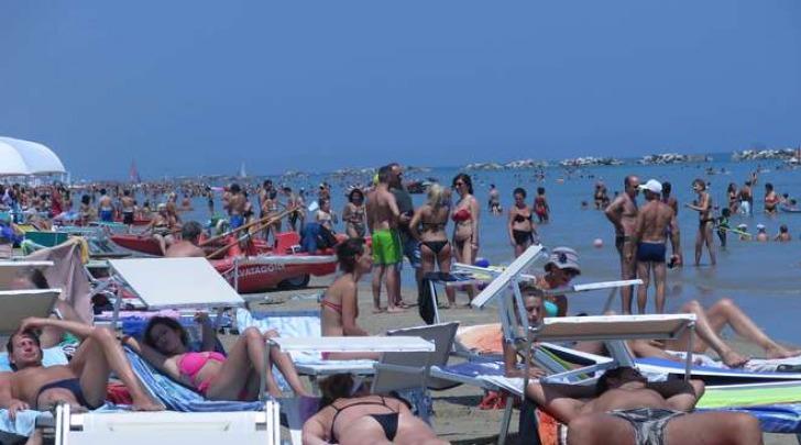 caldo record spiagge italiane