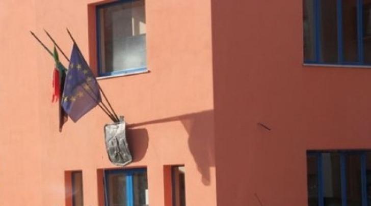 L'aquila bandiere comune