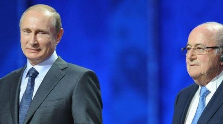 Putin e Blatter