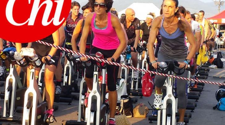 Agnese Renzi versione biker (Chi)