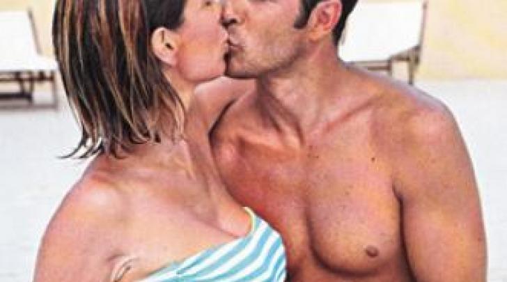 Veronica Maya e Marco Moraci pancione