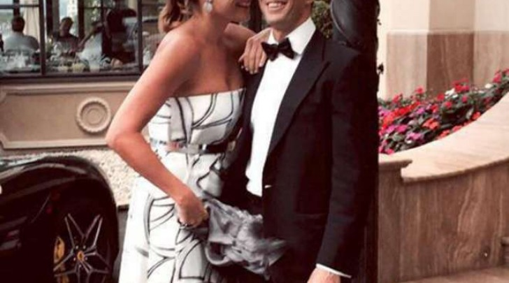 Alena Seredova e Alessandro Nasi, prima foto insieme (Instagram)