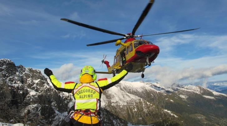 Soccorso alpino con elicottero - Foto di Antonio Di Cecco