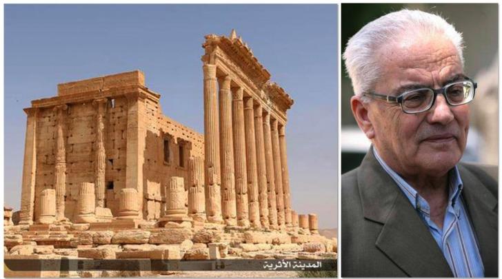 Tempio di Baal Shamin-l'archeologo Khaled al Asaad