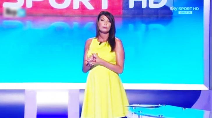 Ilaria D'Amico in TV