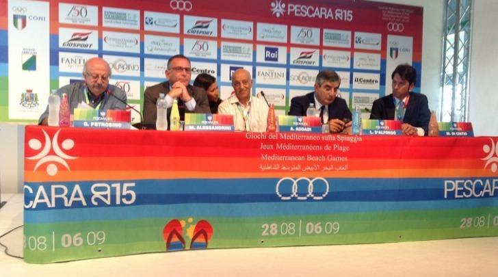 Presentazione Giochi del Mediterraneo