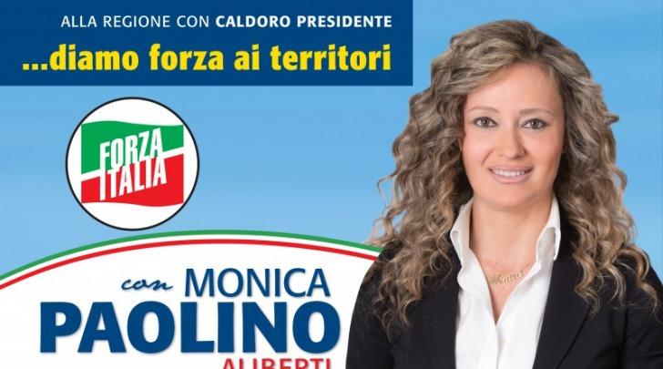 Monica Paolino, manifesto elettorale