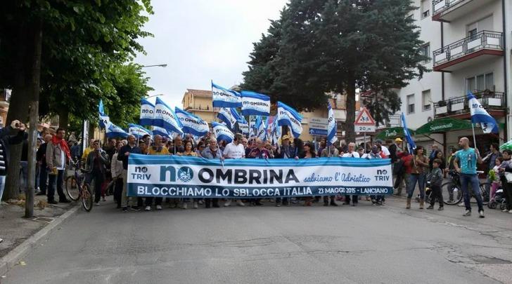 manifestazione no-ombrina