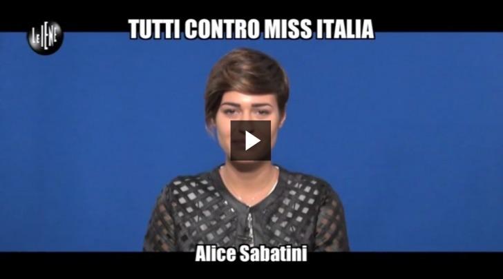 Miss Italia, Il Riscatto di Alice Sabatini