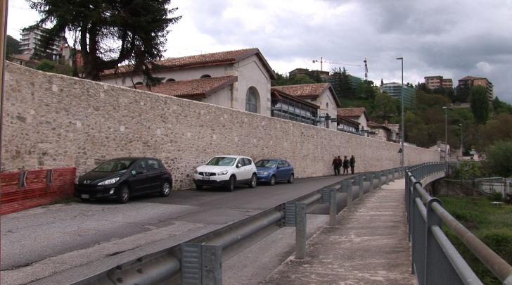 Antiche mura esterne all'ex mattatoio
