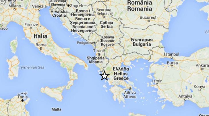 cartina evento sismico