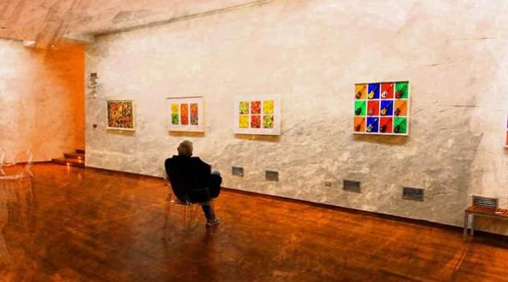 Sandro Lucio Giardinelli in mostra