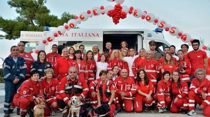 Volontari croce rossa Silvi