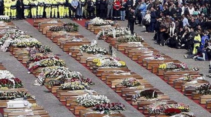 Funerali vittime sisma 6 aprile 2009