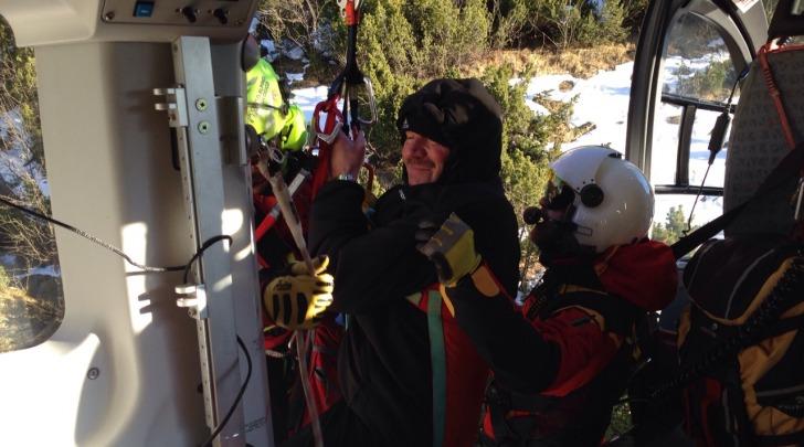 Recupero soccorso alpino