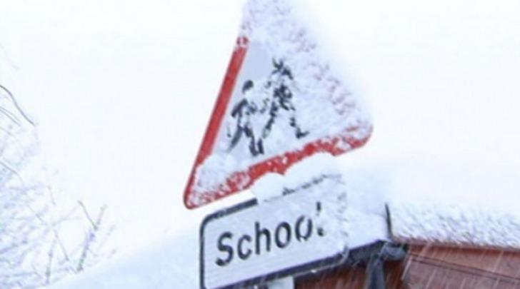 scuole chiuse per neve
