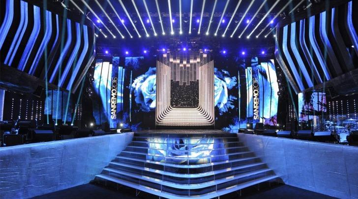 Scenografia Sanremo2016 - foto ufficiale