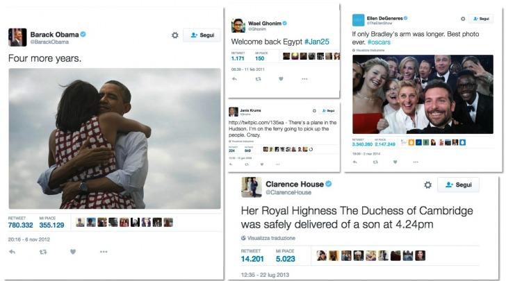 Tweet storici