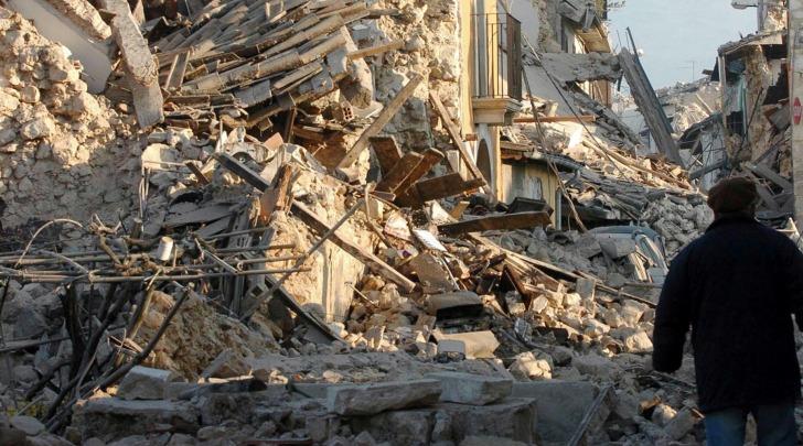 terremoto L'Aquila - foto da facebook