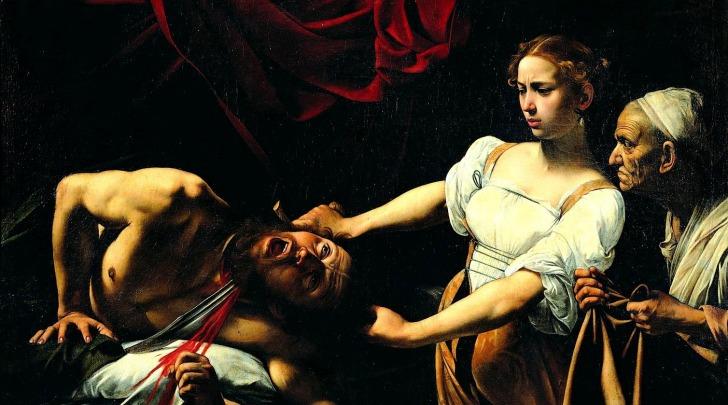 Caravaggio, Giuditta e Oloferne - Galleria nazionale di arte antica (RO)
