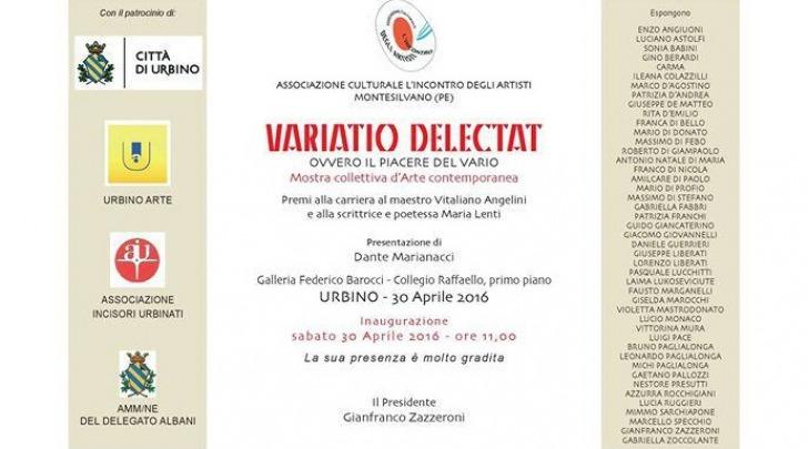 Variatio Delectat - Collettiva D'Arte Contemporanea