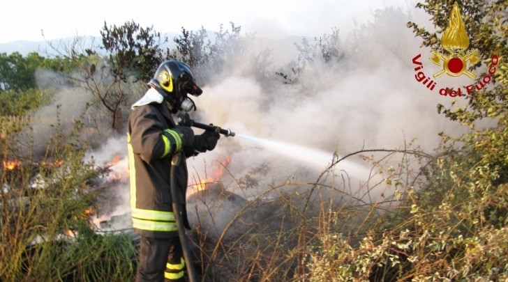 Spegnimento incendio VVF