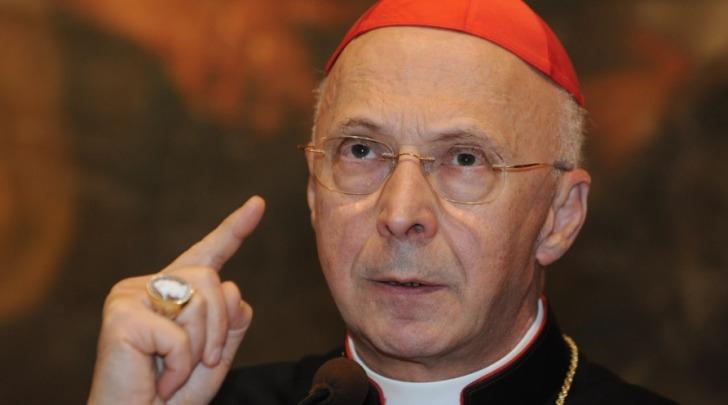 Il cardinale Angelo Bagnasco, presidente della Cei